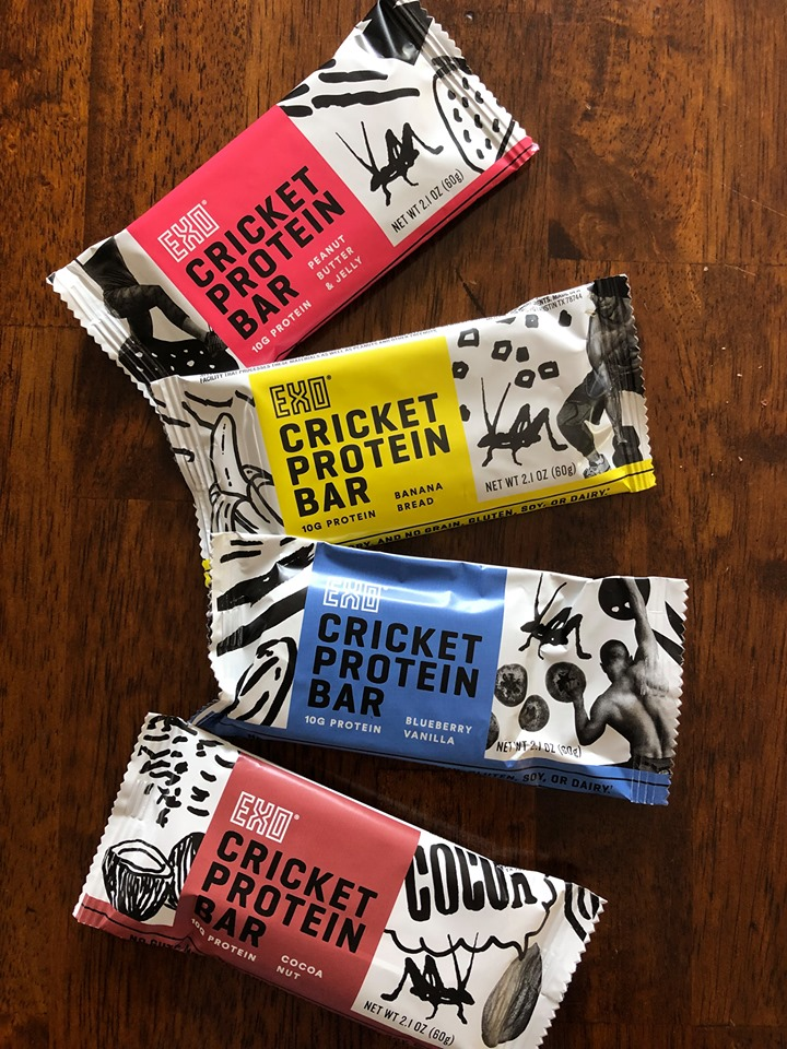 Cricket Protein Bars by EXO