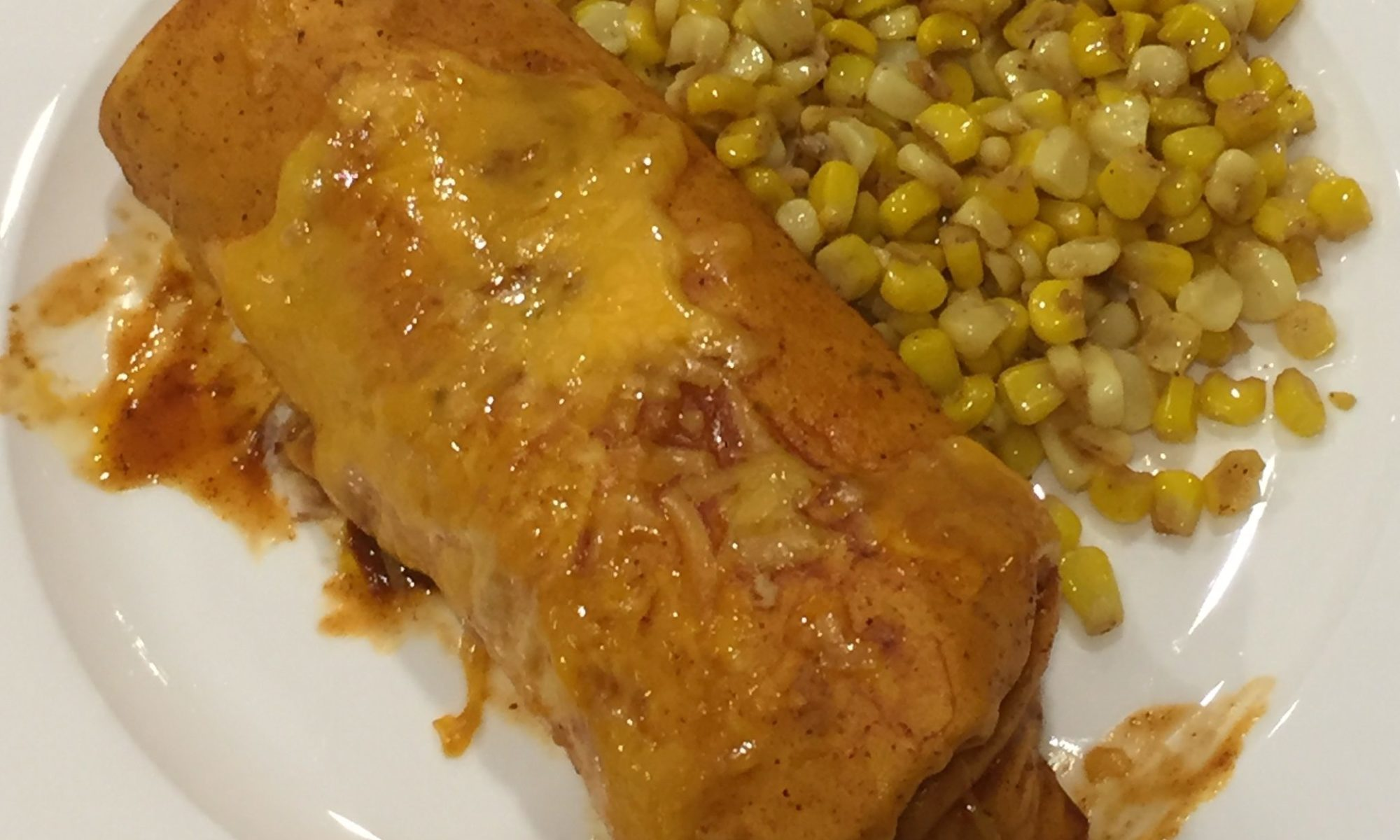 Chicken Enchiladas with Elote